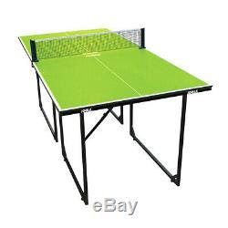 JOOLA Tischtennisplatte Midsize Indoor Sport Tischtennis Tisch Platte grün