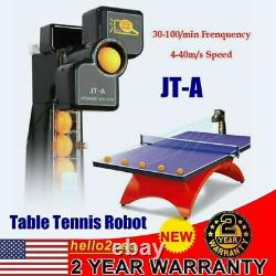 JT-A 50W Table Tennis Robot PING PONG Automatic Ball Training Machine best SALE