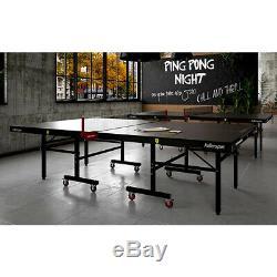Killerspin MyT10 BlackPocket Ping Pong Table Tennis Table