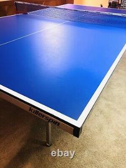 Killerspin Ping Pong Table KILLERSPIN MyT4 Full Size Ping Pong Table With Paddles+