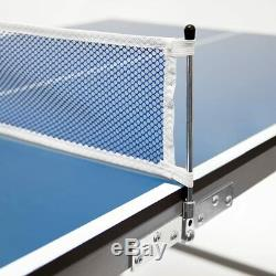 ND Folding Mini Table Tennis Portable Ping Pong Set Games Play Sport with Net