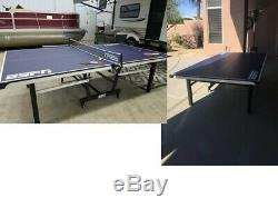 NEW ESPN Official Size Table Tennis Table with Cover Indoor Ping Pong Game Room