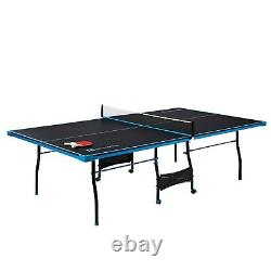 NEW Official Size Table Tennis Ping Pong Table Indoor With Paddle And Balls NEW