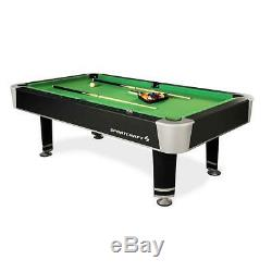 NEW Sportcraft Webster 90 Billiard Table with Table Tennis Top FREE SHIP