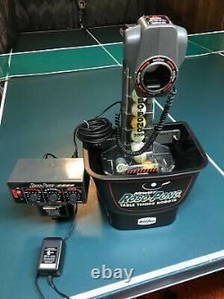 NEWGY ROBO PONG nick-named model 538 Table Tennis Robot in Excellent Condition