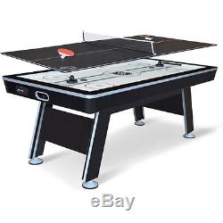 NHL 80 Air Powered Hockey with Table Tennis Top