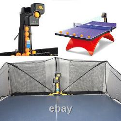 New 240W JT-A Ping Pong Robot Balls Table Tennis Automatic Ball Machine with Net