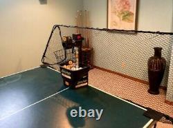 Newgy Robo-Pong 1040+ Table Tennis / Ping Pong Robot used 3 dozen balls incl