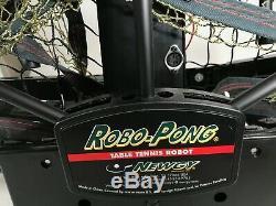 Newgy Robo-Pong 2040 Table Tennis Ping Pong Robot Untested No Controller No Cord