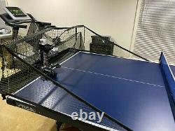 Newgy Robo-Pong 3050XL Table Tennis / Ping Pong Robot with new Butterfly balls