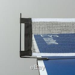 Outdoor Ping-Pong Table Folding Tennis Table Indoor Full Official Size with Wheels