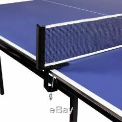 Ping Pong Table 9ft Folding Tennis In/Outdoor Games Activities Play Sports Set