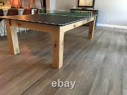 Ping Pong Table Henderson Made Made In America Table Tennis Rustic Table