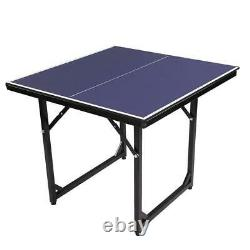 Ping Pong Table Tennis Foldable Game Set Home Family Indoor Outdoor Play 6'x3