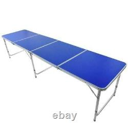 Portable 3 Foot Aluminum Alloy Beer Pong Table Folding Outdoor Camping Party USA