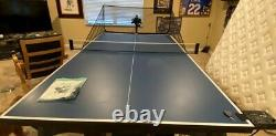 Power Pong 3000 3 Motor Table Tennis Robot, Balls & Ball Basket