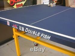 Pretty, 318B unique quality outdoor table tennis ping pong table, pick up or ship