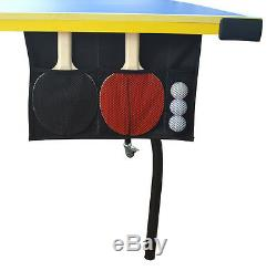 Regulation Size Table Tennis Ping Pong Carmelli Bounce Back with Paddles and Balls