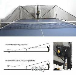 S8-PRO Table Tennis Robot Automatic Ping Pong Ball Machine with Catch Net Training