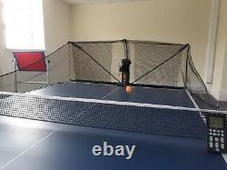 S8-PRO Table Tennis Robot Automatic Ping Pong Balls Recycle Net remote control