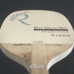 SALIX RYU SEONGMIN Premium Penholder Table Tennis Racket Paddles S Grade