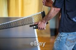 STIGA Advantage Indoor Table Tennis Table Ping Pong Blue Silkscreen Striping
