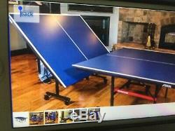 STIGA T8523 Foldable Table Tennis Blue. Slight usage. Amazon $434.00