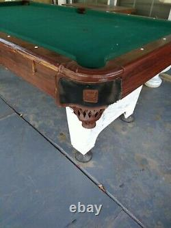 SoleX Addison Billiard Table with Table Tennis Top Black