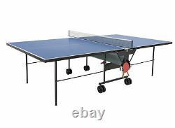 Sponeta 1-13e outdoor Tischtennisplatte Blau mi Netz wetterfest Tischtennistisch