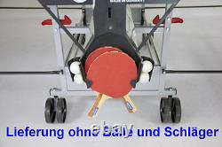 Sponeta 3 46e outdoor Tischtennisplatte Grün wetterfest Tischtennistisch m. Netz