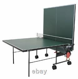 Sponeta S 1-12e outdoor Tischtennisplatte grün mit Netz wetterfest