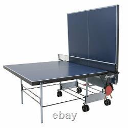 Sponeta S 3-47 i Blau indoor Tischtennisplatte mit Netz Tischtennistisch