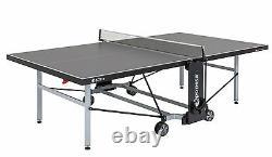 Sponeta S 5-70e outdoor Tischtennisplatte grau wetterfest Netz Tischtennistisch