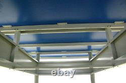 Sponeta S 6-67 e Tischtennisplatte wetterfest outdoor blau incl Netzgarnitur