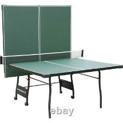 Sportcraft SC11150 4-Piece Table Tennis Table Green NO SHIPPING