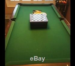 Sportcraft pool table ping pong top