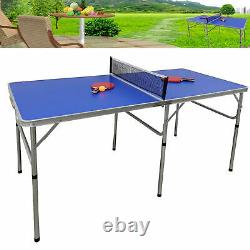 Stable Indoor Outdoor Tennis Table Ping Pong Sport Official Size Family Party
