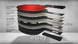 Stiga Royal 5-Star Table Tennis Racket PingPong Bat Paddle ProCarbon HighQuality