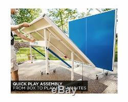 Stiga XTR Series Table Tennis Table XTR & XTR Pro Indoor/Outdoor Table Tennis