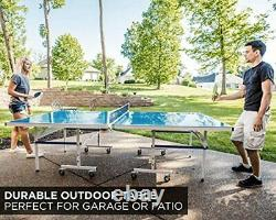 Stiga XTR Series Table Tennis Table XTR and XTR Pro Indoor Outdoor Ping Pong