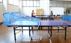 Super Emperor Table Tennis Robot/Machine withNet, 100 training balls, Auto reload