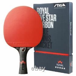 Table Tennis Bat Stiga 5-Star Royal Carbon WRB Bat