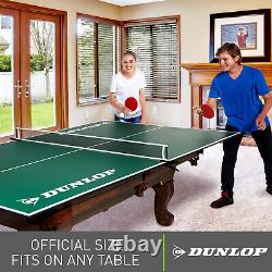 Table Tennis Conversion Top Full Size Folding Ping Pong with Net Set on Any Table