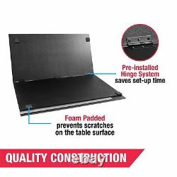 Table Tennis Conversion Top Mid-Size Portable Pre Assembled Game Room Sports