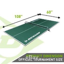 Table Tennis Conversion Top Ping Pong Official Size Tournament Game Room Indoor