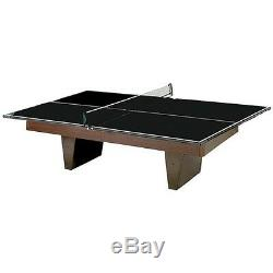 Table Tennis Conversion Top Ping Pong Tabletop for Pool Table Game Rec Room