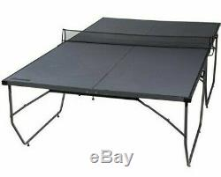 Table Tennis Folding Conversion Top Ping Pong Set Indoor Outdoor Kids Compact
