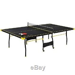Table Tennis Folding Huge Size Game Set Indoor Outdoor Sport Full Set