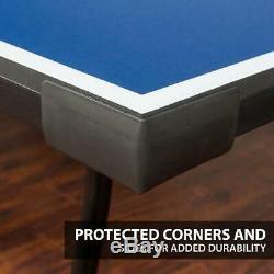 Table Tennis Ping Pong Folding Tournament Original Size Game Set Indoor Sports