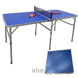 Table Tennis Ping Pong Table Foldable With 2 Paddles And 3 Balls Outdoor Indoor